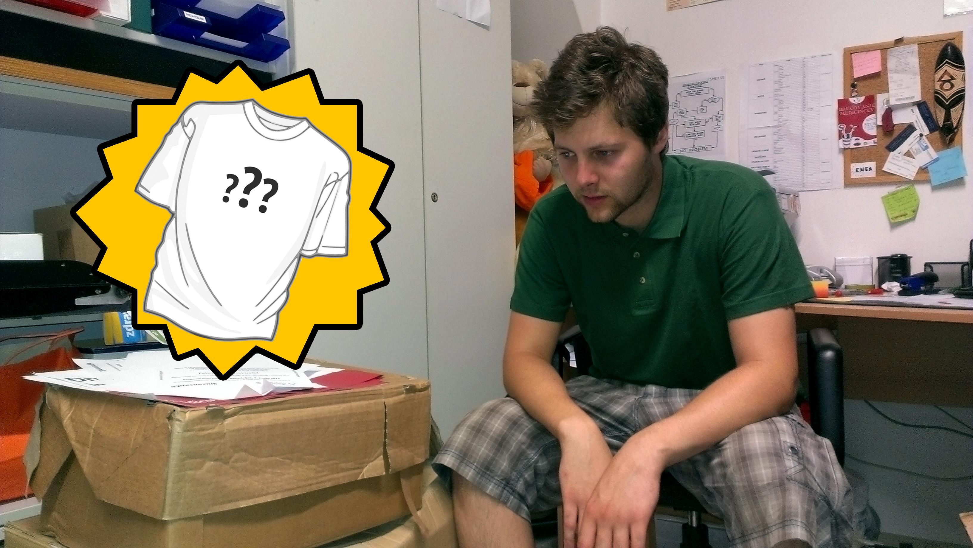 Razpis Pomagajmo Blažu 2013 (a.k.a. Natečaj za majico)