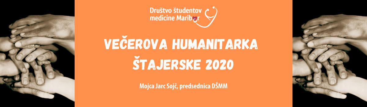 Naša predsednica, Večerova humanitarka Štajerske 2020!