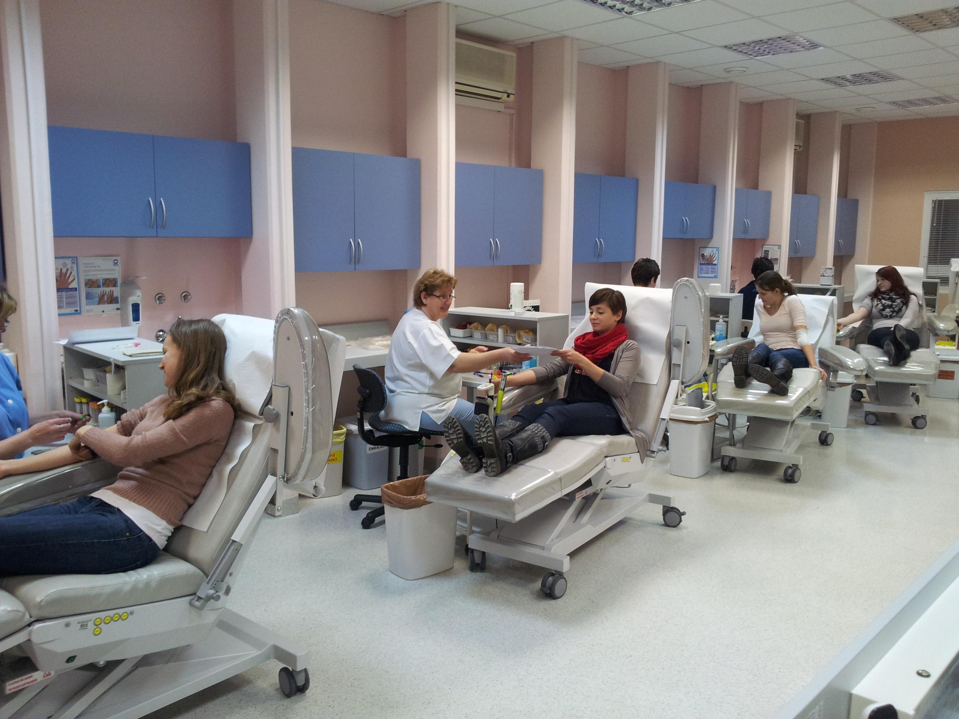 Vpis v register Slovenija Donor in darovanje krvi
