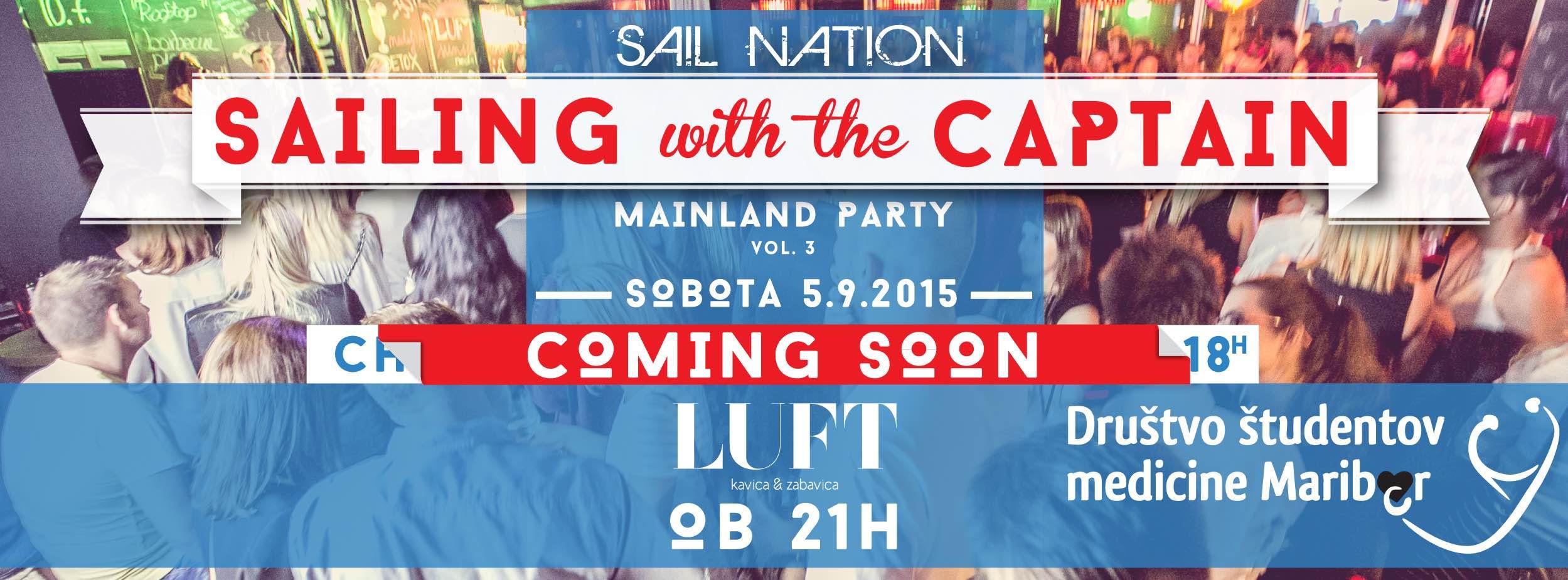 SailNation zabava v LUFTu