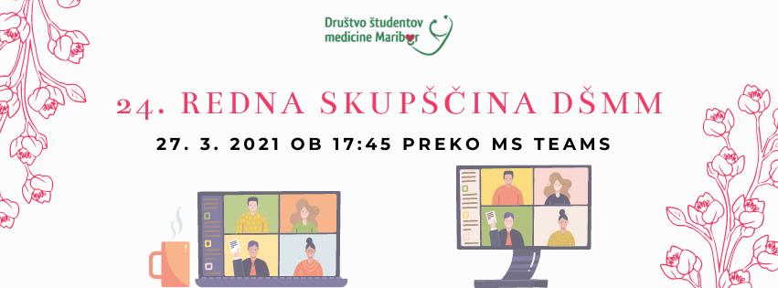 Sklic 24. redne skupščine Društva študentov medicine Maribor